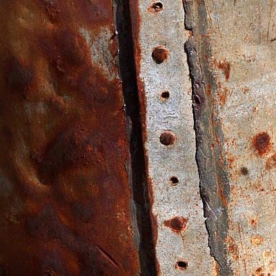 Rusted Metal Tank Poster
