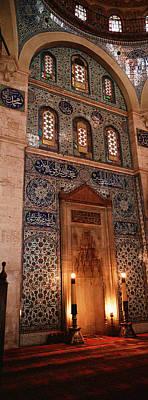 Rustem Pasa Mosque Istanbul Turkey Poster