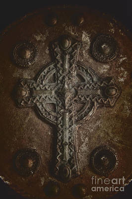 Rustic Cross Poster by Margie Hurwich