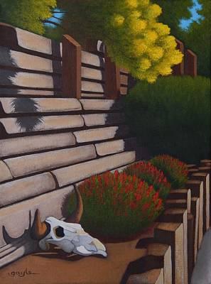 Rustic Garden Poster