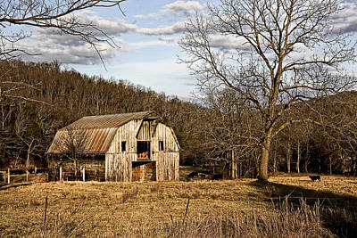 Poster featuring the photograph Rustic Hay Barn by Robert Camp