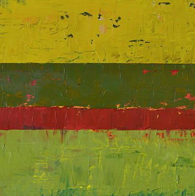 Rustic Roadside Series 2 - Yellow Sky Poster