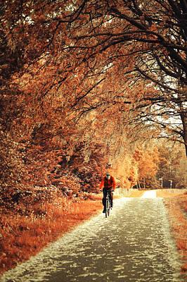 Rusty Autumn. Holland Poster