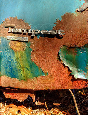Rusty Blue Tempest Poster