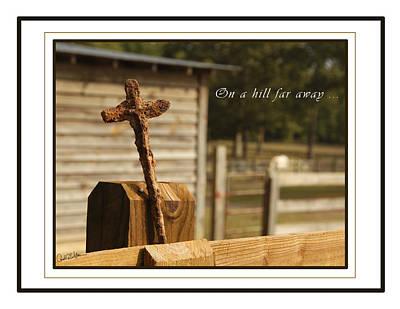 Rusty Cross Poster