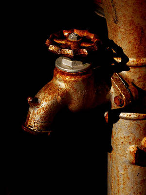 Rusty Faucet Poster by Art Block Collections