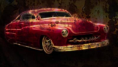 Rusty Merc Poster by Steve McKinzie