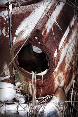 Rusty Relic 1 Poster by Gordon Dean II