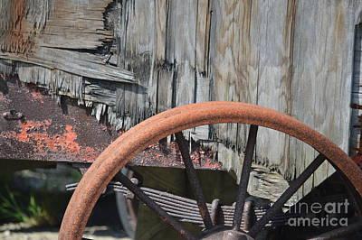 Rusty Rim Trusty Springs  Poster by Brian Boyle