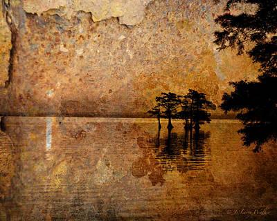 Rusty Sunrise Poster by J Larry Walker