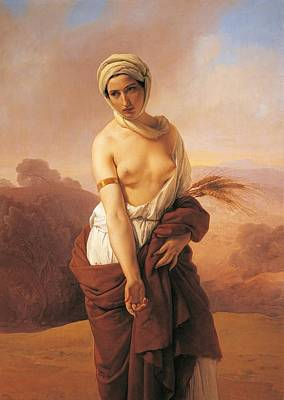 Ruth Poster by Francesco Hayez