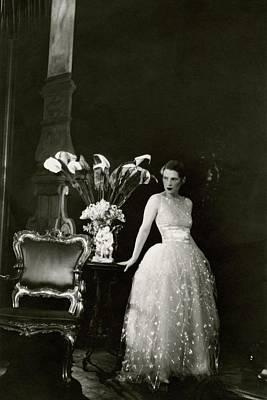Ruth Gordon Performing In Serena Blandish Poster