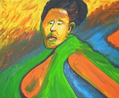 Rwanda Rage Poster by Esther Newman-Cohen