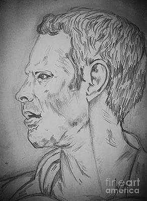 Ryan Giggs Art Poster by Collin A Clarke