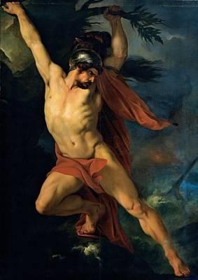 Sabatelli Francesco, Ajax Son Poster by Everett