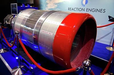 Sabre Rocket Engine Heat Exchanger Poster