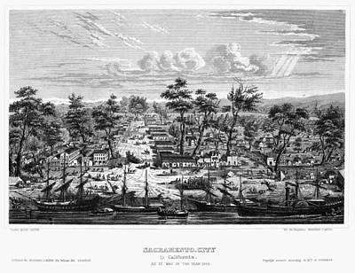 Sacramento, 1849 Poster by Granger