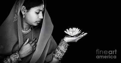 Sacred Flower Poster