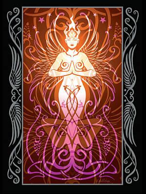 Sacred State V.2 Poster by Cristina McAllister