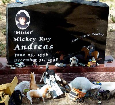 Sad Child's Grave Poster