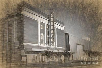 Saenger Theater Biloxi Poster