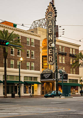 Saenger Theatre New Orleans Poster