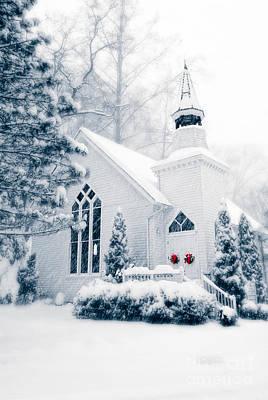 Historic Church Oella Maryland Usa Poster by Vizual Studio