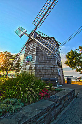 Sag Harbor Windmill Poster