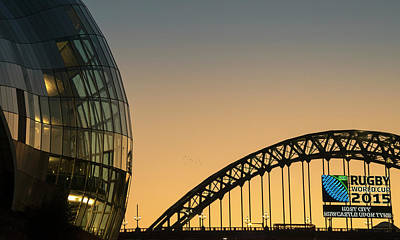 Sage Gateshead And The Tyne Bridge Poster