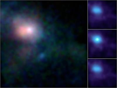 Sagittarius A* Black Hole Poster by Nasa/jpl-caltech