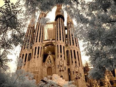 Sagrada Familia Poster by Jane Linders