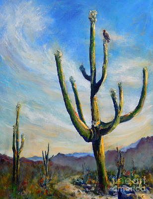 Saguaro Cacti Poster