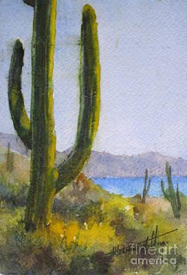 Saguaro Poster by Mohamed Hirji
