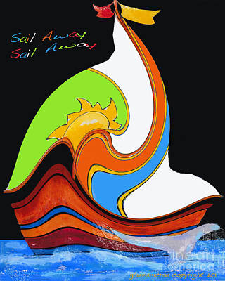 Sail Away Sail Away   Dreams Poster