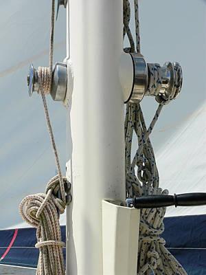 Sailboat Parts Close Up Poster