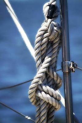 Sailboat Rope Poster