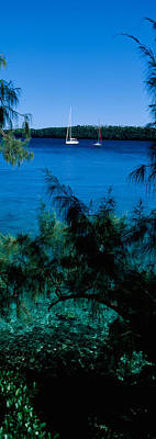 Sailboats In The Ocean, Kingdom Poster by Panoramic Images