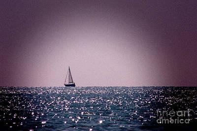 Sailing Home 2 Poster by John Basford