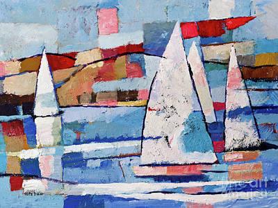 Sailing Joy Poster by Lutz Baar
