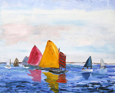 Sailing Nantucket Sound Poster