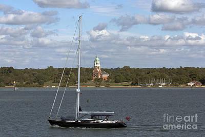 Sailing Past Netley Poster
