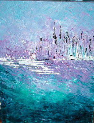 Sailing South - Sold Poster by George Riney