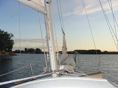 Sailing The Delta Poster