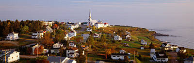 Saint Anne Des Monts, Gaspe Peninsula Poster by Panoramic Images