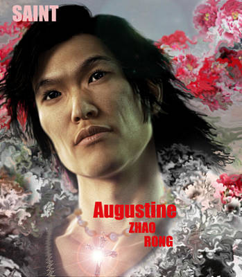 Saint Augustine Zhao Rong  Poster by Suzanne Silvir