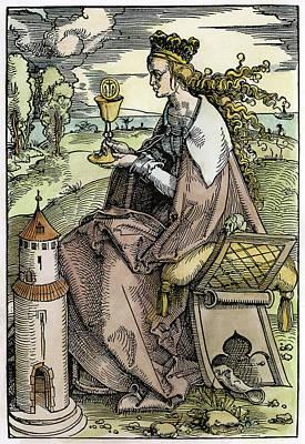 Saint Barbara (c200 Poster