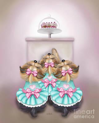 Saint Cupcakes Poster