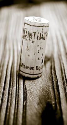 Saint Emilion Wine Poster
