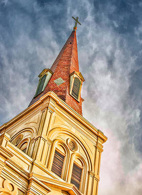 Saint Louis Cathedral Poster by Brenda Bryant