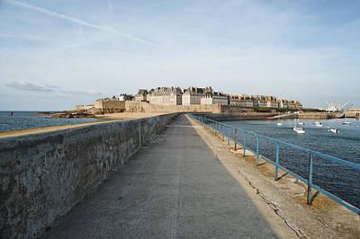 Saint Malo France Poster